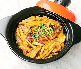 鱼腩腐竹煲的做法