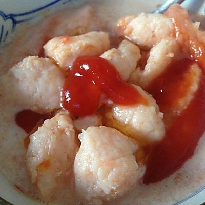 宝宝食谱-番茄西兰花虾丸汤