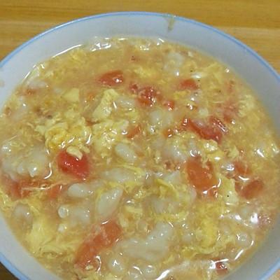 早餐要吃好 西红柿鸡蛋疙瘩汤 面疙瘩的做法 步骤4