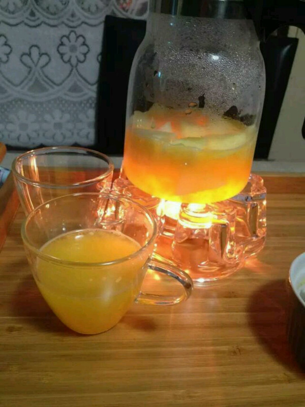 水果茶(橙子,苹果,梨)