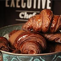 巧克力可颂#美的FUN烤箱•焙有FUN儿#