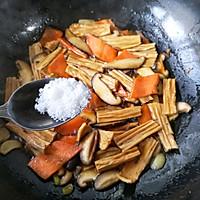 香菇烧腐竹——下饭菜带来的幸福感!的做法图解14
