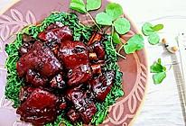 红烧猪脚/猪手/猪蹄★草头铺底★上海本帮菜的做法