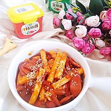 #一勺葱伴侣,成就招牌美味#韩式辣炒年糕