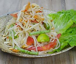 青木瓜沙拉|美食台的做法