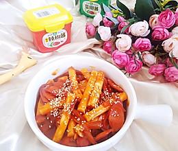 #一勺葱伴侣,成就招牌美味#韩式辣炒年糕的做法