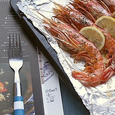 【芝士黄油烤大虾】