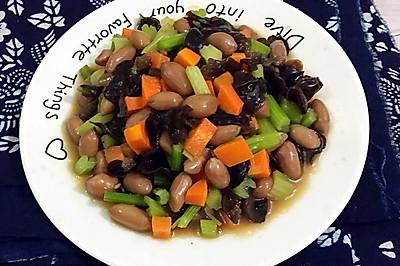 杂蔬五香花生米(三分钟巧煮五香花生米)