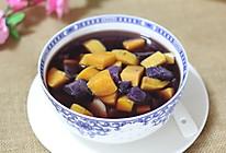 姜片红糖番薯糖水的做法