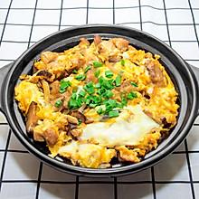 秘制亲子丼,一碗融合鸡肉和鸡蛋的美味盖饭