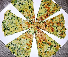 韭菜虾皮鸡蛋煎饼的做法