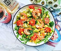 #中秋宴,名厨味#低脂好吃的藜麦鲜虾沙拉的做法