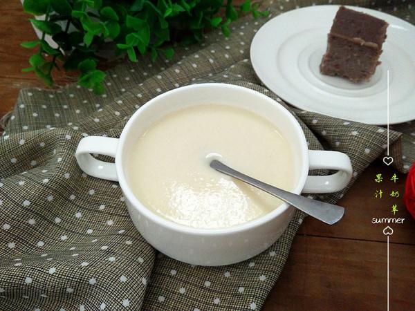 牛奶苹果汁的做法