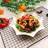 #精品菜谱挑战赛#四季豆烧腐竹+春天的味道的做法图解18