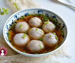 #花10分钟,做一道菜!# 红薯芋头肉圆的做法