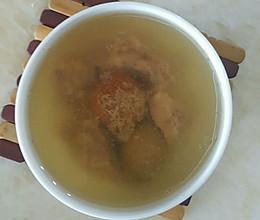 青橄榄瘦肉汤的做法