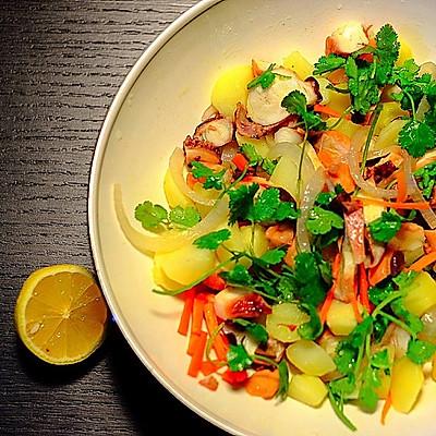 意大利章鱼土豆沙拉