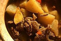 清湯牛肉煮白萝卜的做法