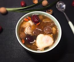 桂圆红枣洋参蛋的做法