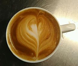拿铁咖啡卡布奇诺的做法