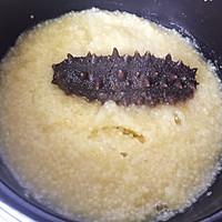 小米海参粥的做法图解7