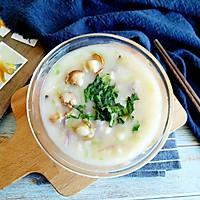 佛手扇贝海鲜汤