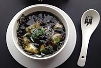 紫菜豆腐汤#黑人牙膏一招制胜#的做法