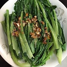 爽口凉拌油麦菜 减肥菜