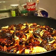 秘制酱汁焖锅(黑鱼鸡肉)