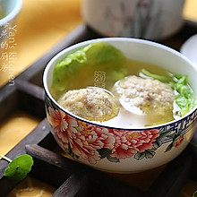 扬州名菜--【清炖绣球狮子头】