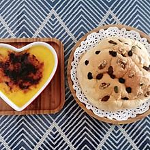 焦糖布丁+云朵蛋糕(完美搭配版)