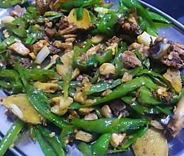 辣椒炒鸡的做法