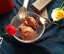 #夏日时光#巧克力冰淇淋——法芙娜经典之作的做法