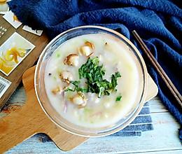 佛手扇贝海鲜汤的做法