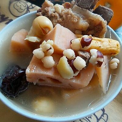 莲藕骨头汤--秋冬必饮营养养生汤水