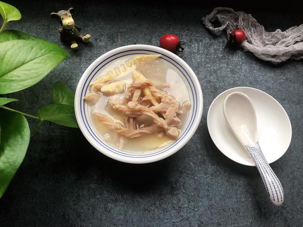 猪肚笋汤的做法