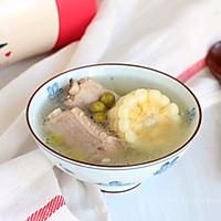 玉米青豆排骨汤#膳魔师移动的小厨房#的做法图解6