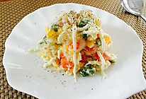 土豆泥蔬菜鸡蛋沙拉的做法