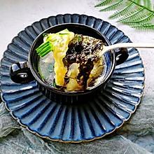 #憋在家里吃什么#紫菜蛋花汤