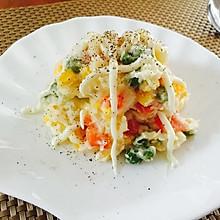 土豆泥蔬菜鸡蛋沙拉
