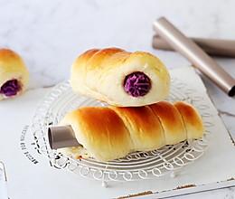 紫薯螺旋面包的做法