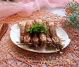 烤皮皮虾#今天吃什么#的做法