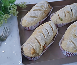 全麦坚果面包~健康的杂粮包的做法