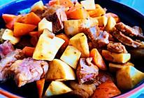 #全电厨王料理挑战赛热力开战!#杏鲍菇胡萝卜炒牛排的做法