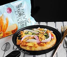 #爱好组-高筋#什锦披萨的做法