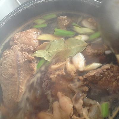 大喜大牛肉粉试用之不加一滴油的〜私房卤牛肉的做法 步骤8