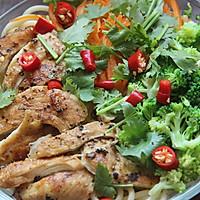 凉拌中式鸡胸意面│瘦身低脂减肥餐的做法图解6