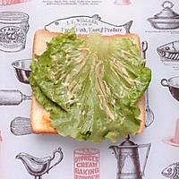 火腿芝士蛋三明治#百吉福食尚达人#的做法图解6