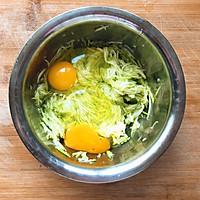快手早餐—西葫芦鸡蛋饼的做法图解4