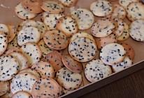 黑芝麻薄脆饼干的做法